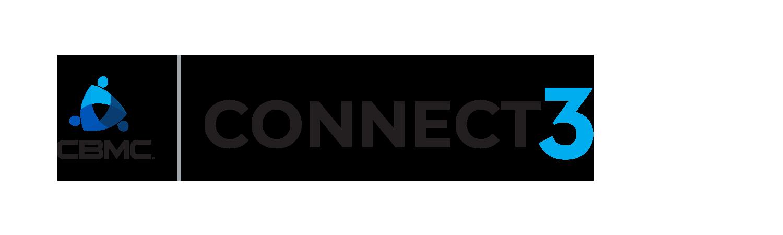 official CBMC Connect3 logo